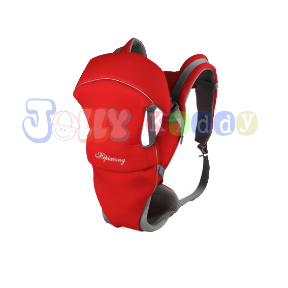 C10111 เป้อุ้มเด็ก (B) ปรับท่าอุ้มได้ 4แบบ(สีแดง)