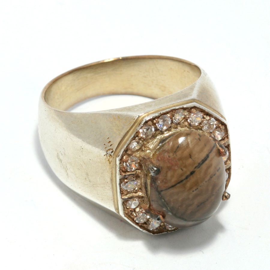 แหวน Fossil งาช้าง