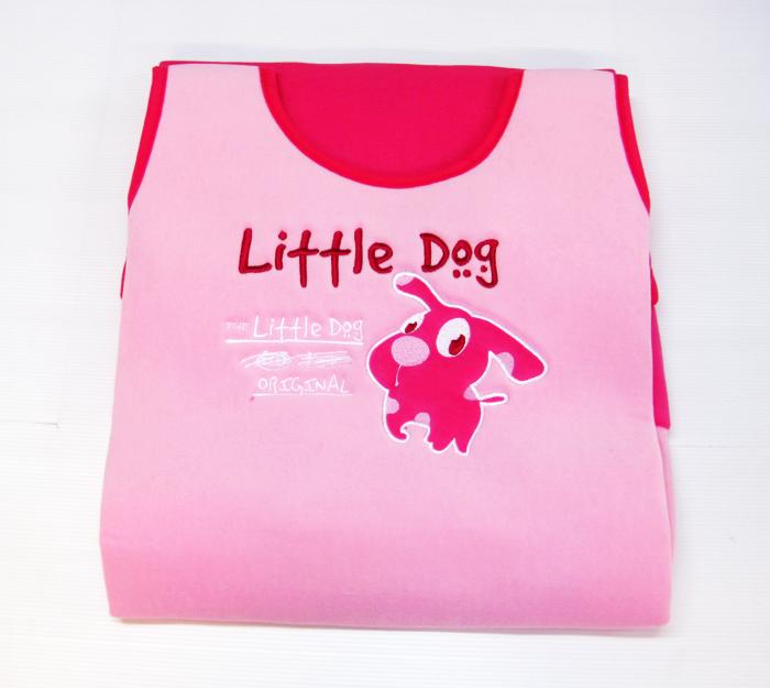 หุ้มเบาะ Little Dog (ชมพู)