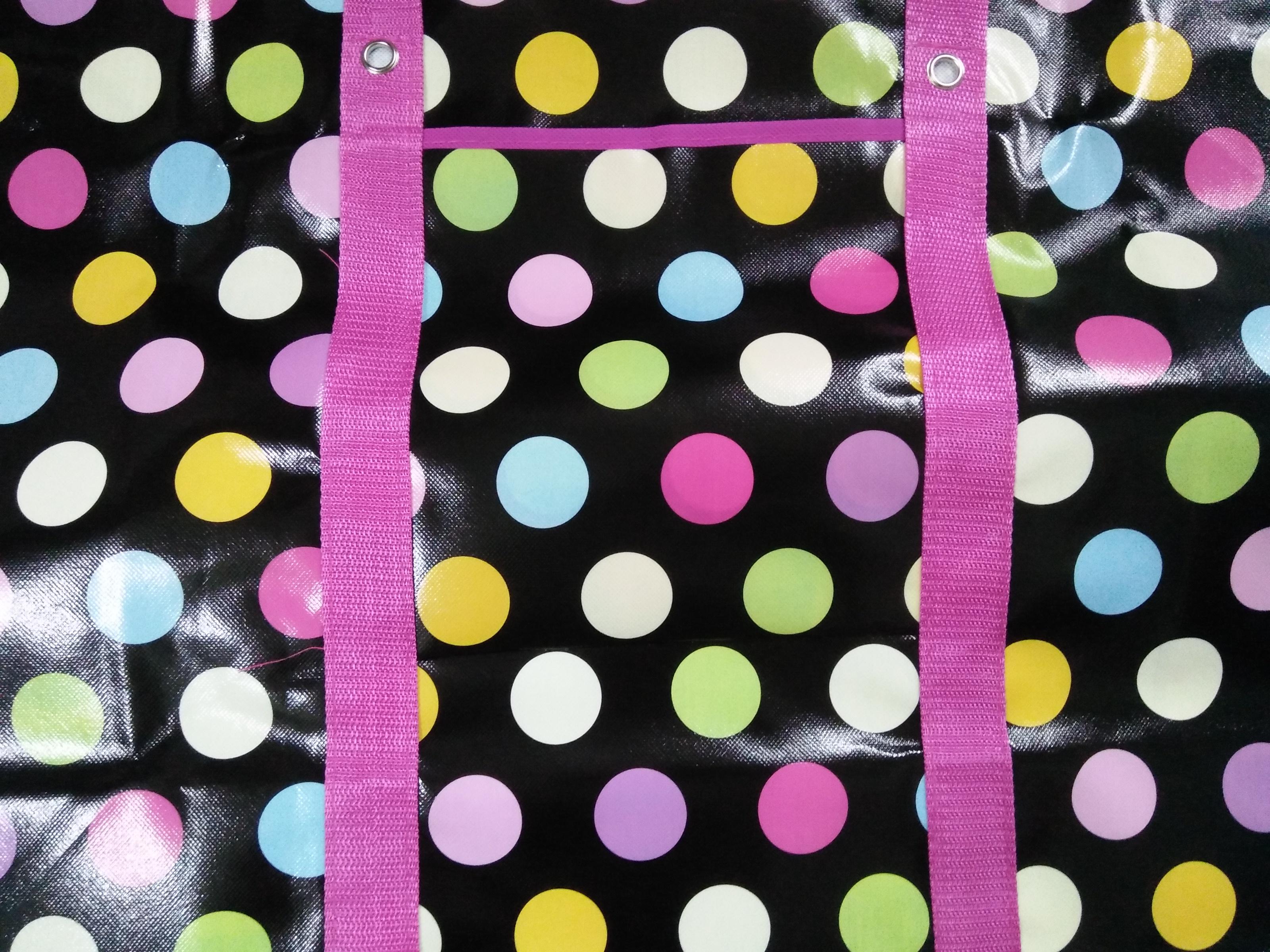 กระเป๋าสปันบอล Pink Dot shopping Bag ถุงสายรุ้ง ราคาส่ง 75 บาท