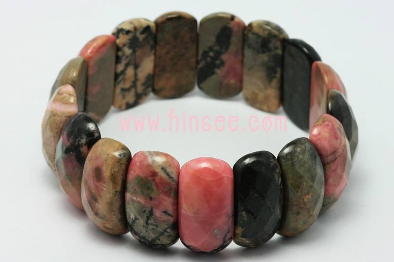 ข้อมือ Rhodonite Stone