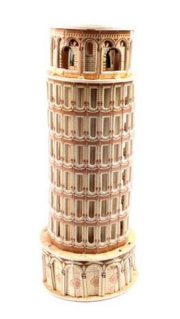 หอเอนปิซ่า PISA ชุดตัวต่อกระดาษโฟม โมเดล 3มิติ จิ๊กซอร์ 3มิติ