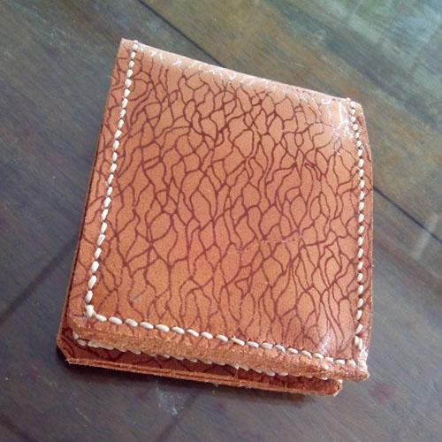 กระเป๋าสตางค์หนังแท้ (Handmade)