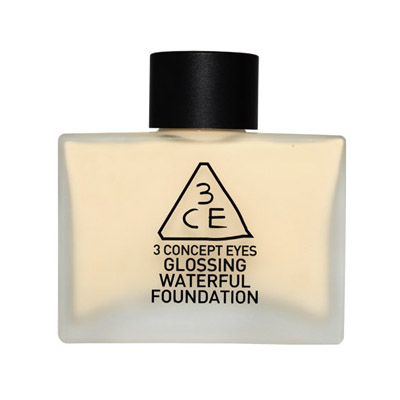 ++Pre order++ 3 CONCEPT GLOSSING Waterful Foundation (SPF15 PA+ )