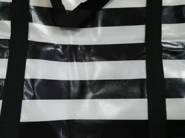 ถุงกระสอบ ลายขาวดำ สำหรับใส่ของ เดินทาง ราคาถูก ขนาดใหญ่ ทรงกล่อง