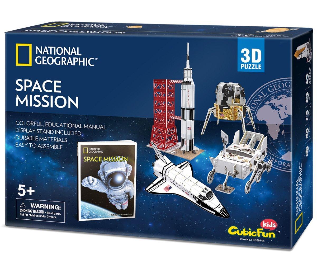 Space Mission Sizec 37*36.5*37 cm Total 80 pcs.