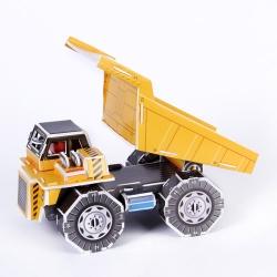 Dump truck model โมเดล 3มิติ ตัวต่อกระดาษโฟม 3D model Shop Happiness is handmade