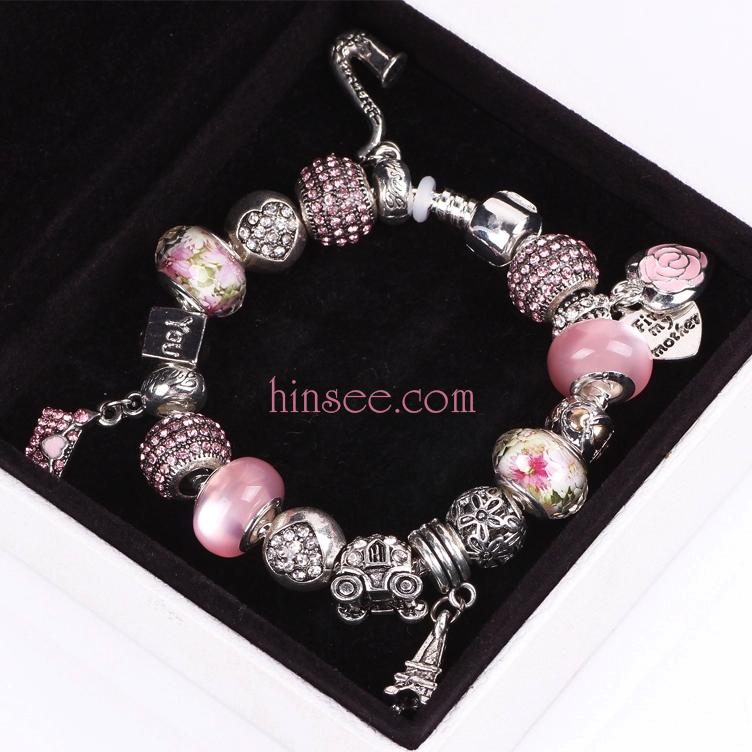 ข้อมือมูลาโน Murano silver beads