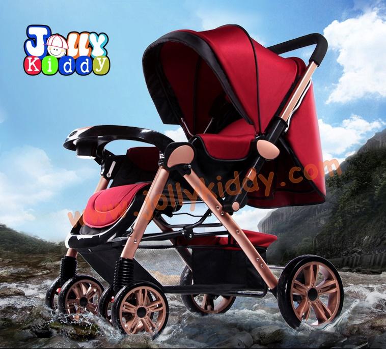CS10120 รถเข็นเด็ก Welebao MT03 Premium สีแดง