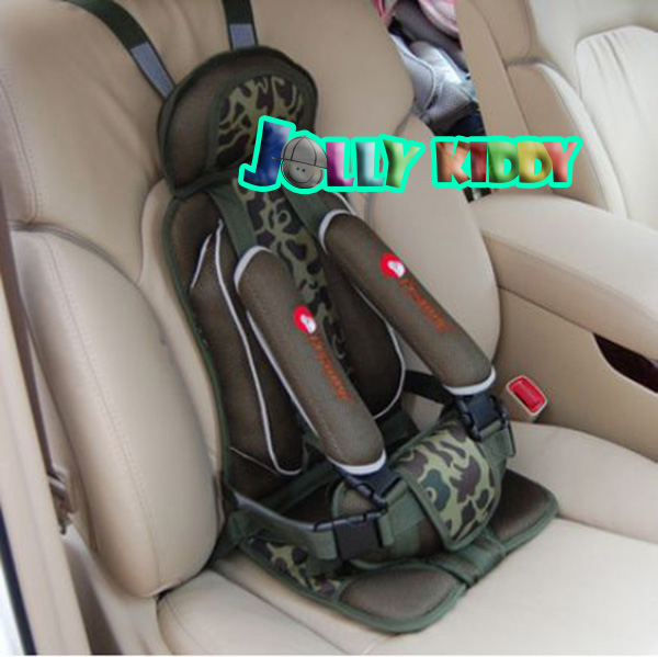 C10102 Car Seat คาร์ซีท แบบพกพา(สีเขึยวลายทหาร)