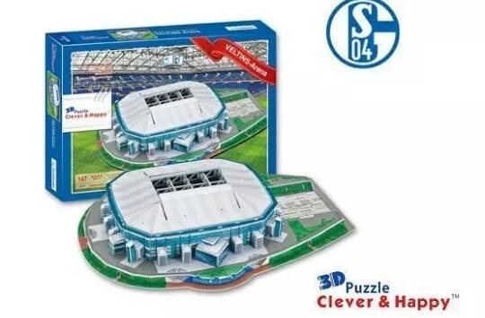 Germany Schalke04 Veltins-Arena สโมสรฟุตบอลชาลเก้ 04 บุนเดสลีก้า