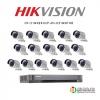 HIKVISION (Set 16) DS-2CE16D0T-IRE x16 + DS-7216HQHI-K2/Px1