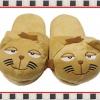 """รองเท้าใส่ในบ้าน Office น้องแมวดิงก้าสีน้ำตาลเข้ม น่ารักมากๆ ขนาด free size ความยาวรองเท้า 10"""" ส่งฟรี ems"""