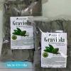 ใบทุเรียนเทศแห้ง Graviola Air Dried Soursop Leaves ขนาด 250 กรัม