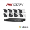 HIKVISION (( Camera Pack 8 )) DS-2CE16F1T-IT3,DS-7208HUHI-F1/N