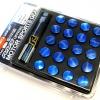 น๊อตล้อ Rays เหล็ก สีน้ำเงิน (1.5 นิ้ว)