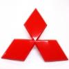 โลโก้ท้ายรถ MISUBISHI สีแดง (Triton/ Pajero)