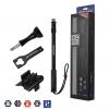 ไม้ Pole กล้อง GoPro ยี่ห้อ Freewell + ซองใส่รีโมท ( รุ่น M2 ) - [ 17 - 40 นิ้ว ]