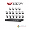 Hikvision (( Camera Set 16 )) ( DS-2CE56D7T-IT3x 16, DS-7216HUHI-F2/N x 1)