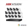 HIKVISION (( Camera Pack 16 )) DS-2CE16F1T-IT3,DS-7216HUHI-F2/N