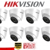 HIKVISION (( Camera Pack 8 )) DS-2CE56D0T-IT3 x 8 2MP DOME 1080P Turbo HD