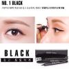 No.1 Black (สีดำ)GRID Waterproof Liquid Eye Liner กริด อายไลเนอร์