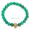 ข้อมือเทอร์คอย จี้หัวเสือดาว Turquoise bracelet