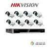 HIKVISION (( Camera Pack 8 )) DS-CD2025FWD-I x 4 + DS-7608NI-K2/8P