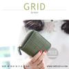 กระเป๋าสตางค์ผู้หญิง GRID สีเขียวเข้ม