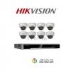Hikvision (ชุดสุดโปรโมชั่นกล้อง 8 ตัว) (DS-2CD2110F-I x 8, DS-7608NI-K2/8P x 1)