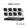 HIKVISION (( Camera Pack 8 )) DS-2CE16F7T-IT,DS-7208HUHI-F1/N