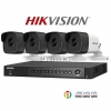 HIKVISION (( Camera Pack 4 )) DS-2CE16F1T-IT,DS-7204HUHI-F1/N
