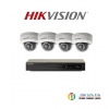 HIKVISION (( Camera Pack 4 )) DS-CD2125FWD-I x 4 + DS-7604NI-K1/4P x1