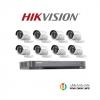 HIKVISION (( Camera Set 8 )) (DS-2CE16D0T-IRx 8, DS-7208HQHI-K1x 1)