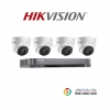 HIKVISION (( Camera Set 4 )) (DS-2CE56D0T-IT3x 4, DS-7204HQHI-K1x 1)