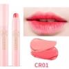 ++พร้อมส่ง++APIEU Half & Half Color Stick เบอร์ 03 CR01 ( Coral & Nude Beige )