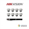HIKVISION (( Camera Pack 8 )) DS-CD2125FWD-I x8 + DS-7608NI-K2/8P