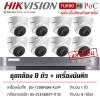 HIKVISION DS-2CE56D0T-IT3Ex8+DS-7208HQHI-K2/8P