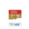 Sandisk MicroSD Card class10 EXTREAM ขนาด 64GB ( สำหรับถ่าย 4K )