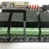 (ครบชุด) IOT Relay 4 ช่อง+สาย USB + Adapter 9VDC