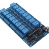 Relay Module board – 16 channel with optoisolators and LM2596 PSU