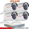 JIGAMI (( Camera+DVR Set 4 )) B16C0TIRP x 4 7104HGHI-F1 x1
