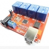 4-way control switch 12V computer USB drive free relay module PC Intelligent Controller