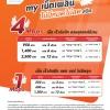 "My by CAT ขยายระยะเวลาแพ็กเกจเสริม my เน็ตเพลิน ""4G ไม่จำกัด"" ไม่ลดความเร็ว 4 Mbps , 1 Mbps สมัครใช้บริการได้ตั้งแต่วันนี้ -วันที่ 31 สิงหาคม พุทธศักราช 2561"