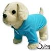เสื้อสุนัข POLO สีฟ้า