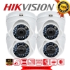 HIKVISION (( Camera Pack 4 )) DS-2CE56C0T-IR x 4 (HD 1080P)