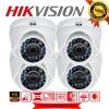 HIKVISION (( Camera Pack 4 )) DS-2CE56C0T-IR x 4 (HD 1080P)