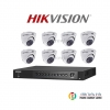 Hikvision (( Camera Set 8 )) (DS-2CE56D7T-ITMx 8, DS-7204HUHI-F1/Nx 1)