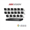 HIKVISION (( Camera Pack 16 )) DS-2CE16F7T-IT,DS-7216HUHI-F2/N