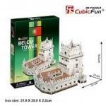 Belem Tower(Portugal) Total: 46 pcs Model Size: 21*14*16.5 cm